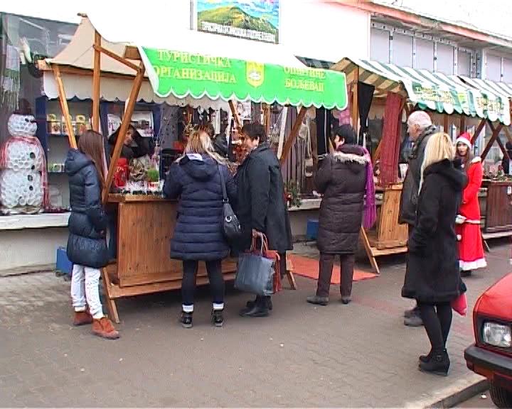 Turistička organizacija Boljevac je ove godine prvi put organizovala novogodišnji vašar