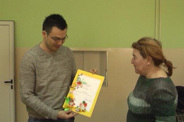 Poklon za učenike Škole za osnovno i srednje obrazovanje Jelena Majstorović u Zaječaru