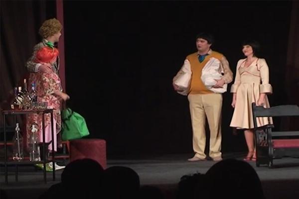 Predstava ''Žurka, žurka'' u pozorištu u Zaječaru