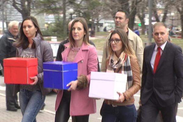 SNS sa koalicionim partnerima  u Zaječaru predao listu za predstojeće lokalne izbore