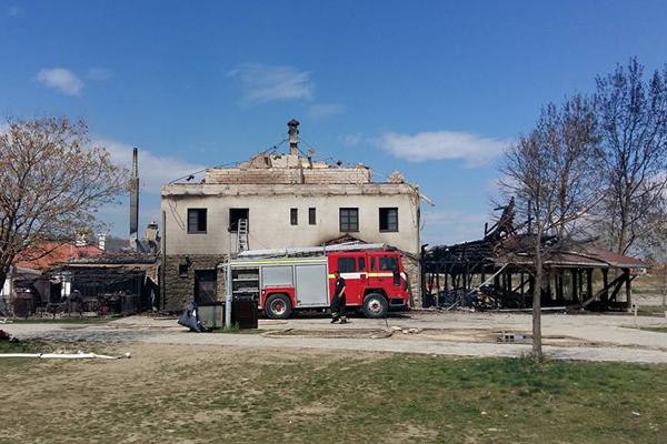 Izgoreo Restoran Šaran