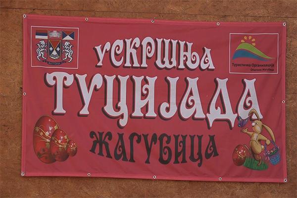 Uskršnja Tucijada u Žagubici trećeg dana uskrsa