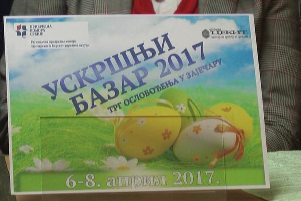 Uskršnji bazar u Zaječaru 6,7, i 8. aprila