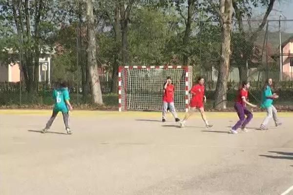 Opštinsko takmičenje u rukometu u utorak 11. aprila