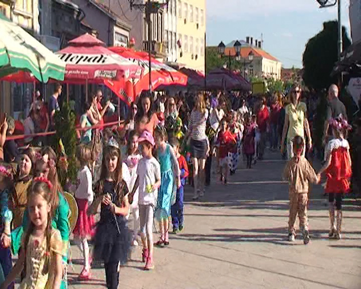 Održan tradicionalni dečji karneval u Negotinu