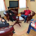 Episkop timočki Ilarion na prijemu u Gradskoj upravi u Zaječaru