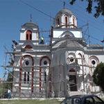 """Nova fasada na crkvi """"Svetog Velikomučenika Georgija"""" u selu Laznica"""