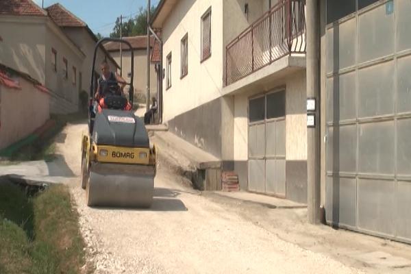 Negotin: U MZ Sikole asfaltirane tri ulice