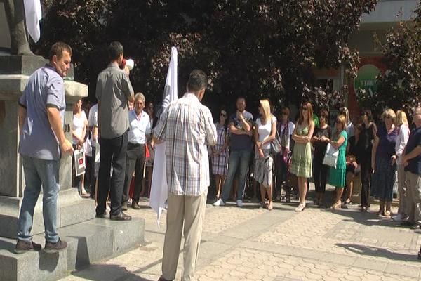 Štrajk prosvetnih radnika i u Zaječaru