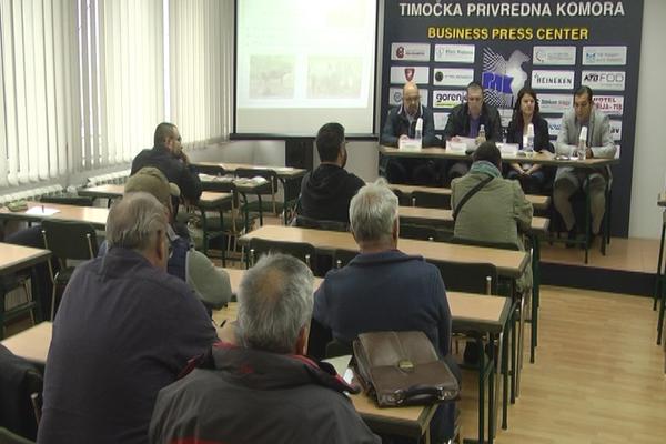 """Predavanje na temu """"Afrička kuga svinja"""" održano u Regionalnoj privrednoj komori u Zaječaru"""