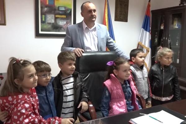 Predškolce u Žagubici primio predsednik Safet Pavlović
