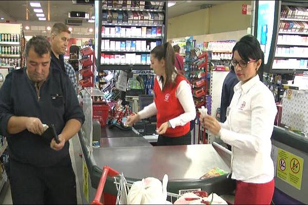 Obuka kandidata za rad u maloprodajnim objektima Tekijanke