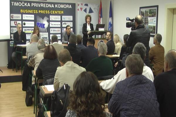"Zaječar: Održana prezentacija pod nazivom ""Državna pomoć-aktuelni programi podrške MMSPP"""