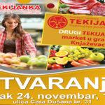 U petak, 24. novembra Tekijanka otvara još jedan objekat u Knjaževcu