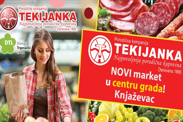 U subotu otvaranje novog Tekijankinog prodajnog objekta u Knjaževcu