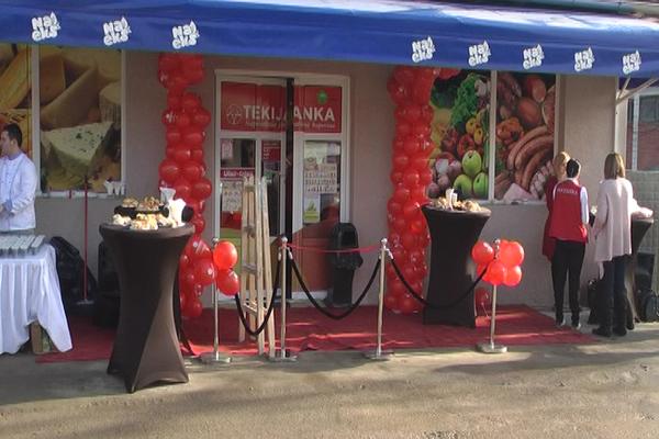 U Borskom selu Zlot otvoren je 25. prodajni objekat u lancu trgovina porodične kompanije Tekijanka
