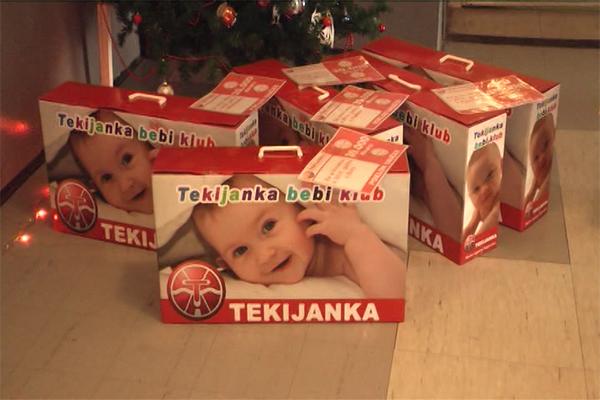 Tekijanka u Zaječaru darivala prvorođene bebe u 2018.