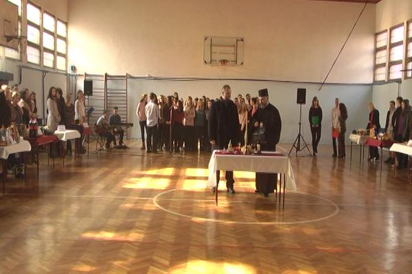 Sveti Sava školska slava, proslavljena i u zaječarskoj Gimnaziji