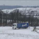 Obustava saobraćaja za teretna vozila na sledećim putnim pravcima: