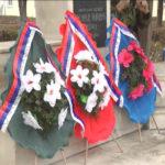 Zaječar: Polaganje venaca povodom dana 9. srpske udarne brigade 11. marta