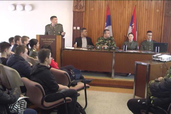Promocija vojnog školstva u Zaječaru