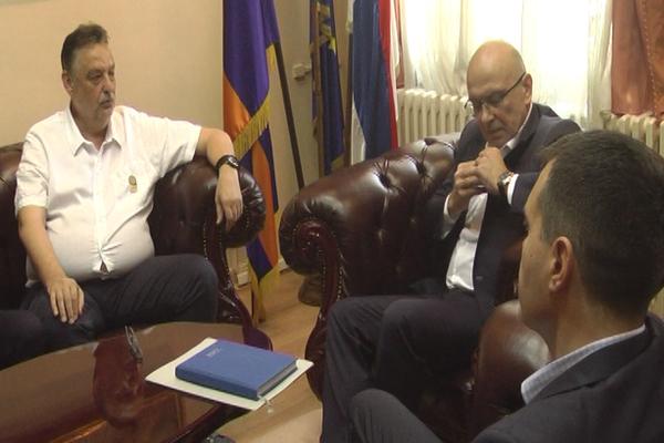 Ničić ugostio ministra kulture Vladana Vukosavljevića