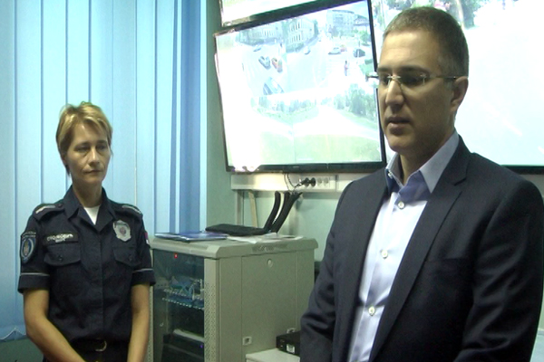 Ministar unutrašnjih poslova Nebojša Stefanović u poseti Zaječaru