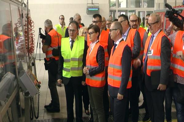 Predsednica Vlade Srbije Ana Brnabić obišla pivaru u Zaječaru