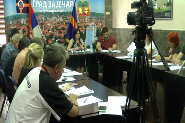 Donete važne odluke na 60. sednici Gradskog veća grada Zaječara