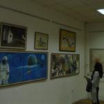 """Izložba pod nazivom """"25 godina likovne kolonije Gamzigrad """" otvorena je u galeriji """"Mina Karadžić"""" u Loznici, u okviru 85. Vukovog Sabora"""