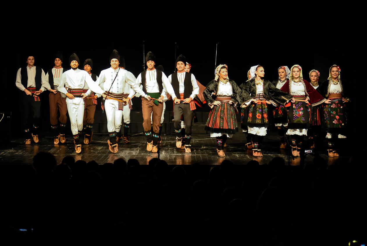 """Oodržan je prvi nastup Gradskog pevačkog društva""""Stevan Mokranjac"""" i Omladinskog gradskog folklornog ansambla"""
