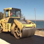Nastavljeno asfaltiranje deonice puta pored Dunava, od Mihajlovca prema Kusjaku