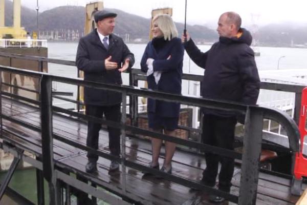 2019. godine počinju radovi na revitalizaciji brodske prevodnice na HE Đerdap1, zatim i izgradnja mosta kod Milutinovca i rehabilitacija puta od Brze palanke do Kladova, najavila ministarka Zorana Mihajlović