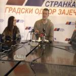 Zaječar: Održana hitna press konferencija SNS-a