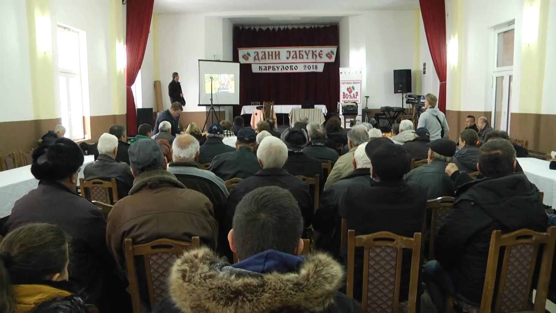 """U Karbulovu, održana edukativno-promotivna manifestacija """"Dani jabuke-Karbulovo 2018"""""""
