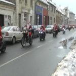 Moto Deda Mraz posetio korisnike Oblutka