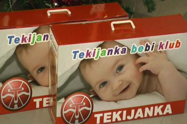 Tekijanka darivala majke u zaječarskom porodilištu