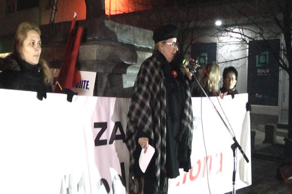 Građanski protest #1od5miliona po peti put je održan u Zaječaru