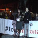 7. građanski protest #1od5miliona: Zaječarci dostojni svojih predaka (VIDEO)