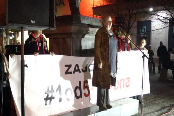 Održan 8. građanski protest u Zaječaru  #1od5miliona
