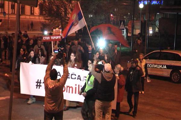 Jeremić i Lutovac govorili na 12. protestu #1od5miliona u Zaječaru (VIDEO)