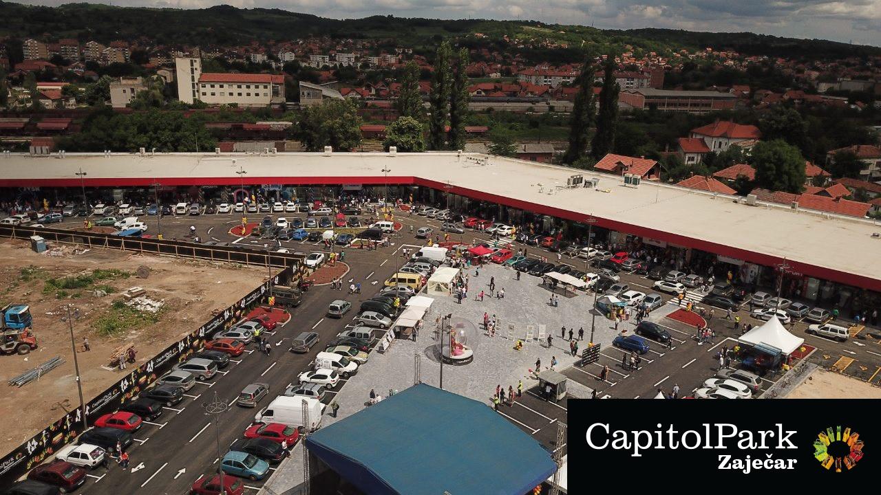 Otvoren Kapitol park u Zaječaru (VIDEO)