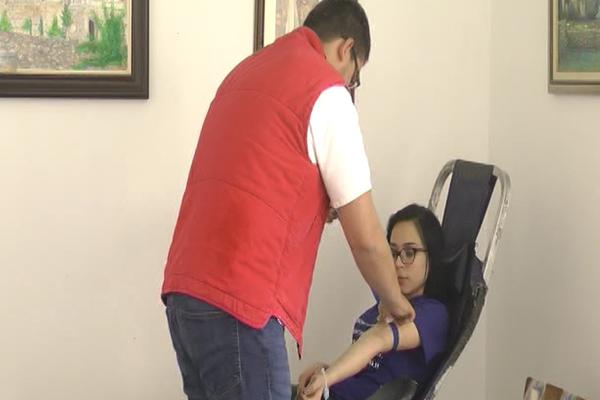 U Zaječaru je obeležen Svetski dan dobrovoljnih davalaca krvi (VIDEO)