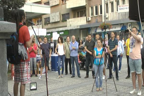 U Zaječaru opet održani protesti