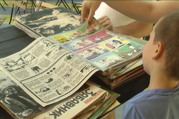 Stripovi, ploče i društvene igre i dalje popularne (VIDEO)