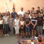 Tradicionalni prijem za talentovane i najuspešnije učenike  osnovnih i srednjih škola u Negotinu