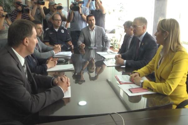 Zaječar: Ministar policije dr Nebojša Stefanović obilazi i policijske stanice u Zaječarskom okrugu