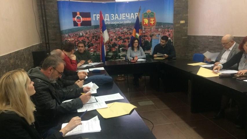 Održana 118. sednica Gradskog veća grada Zaječara