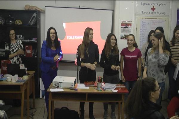 Promocija humanih vrednosti Crvenog krsta Srbije (VIDEO)